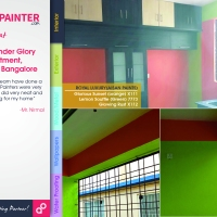 aapkapainter - Portfolio: Commander Glory Apartments, Jalahalli, Bangalore